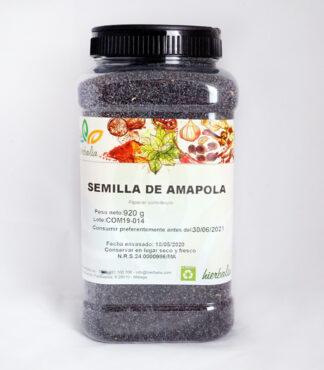 Semillas de Amapola Hierbalia