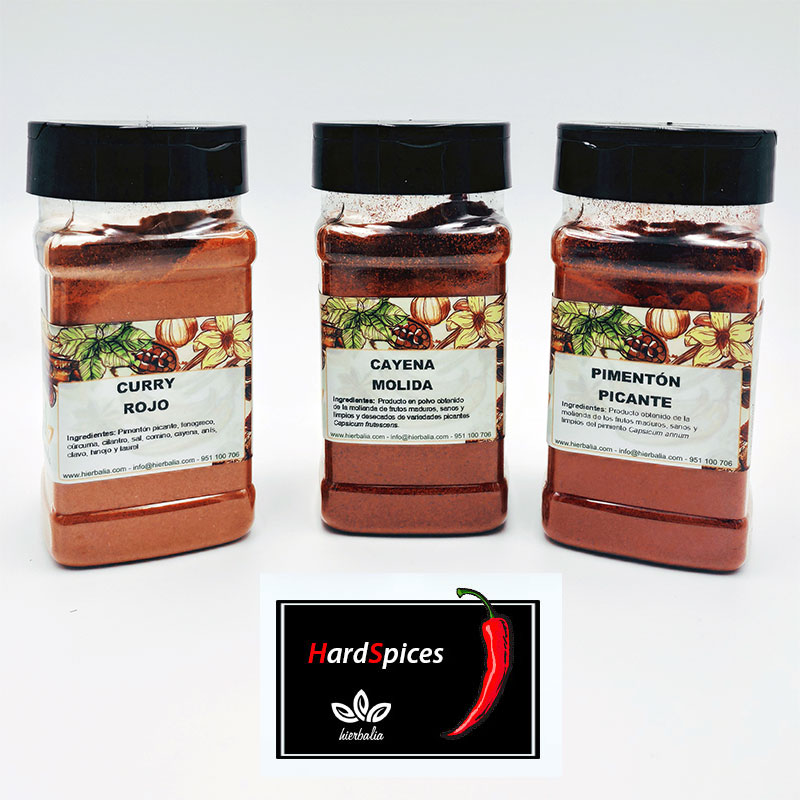 Pack Hard Spices