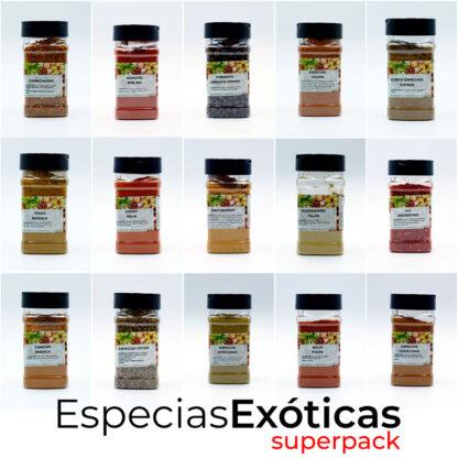 Especias Exoticas SuperPack Descuento