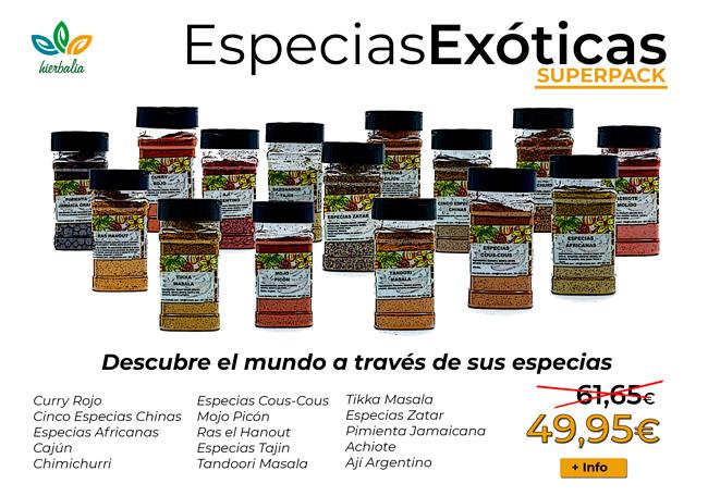 Especias exoticas