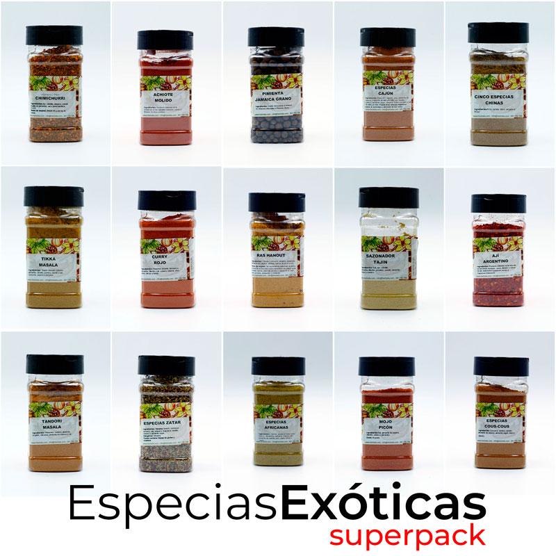 SuperPack Especias Exóticas